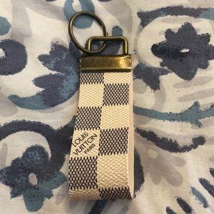 Louis Vuitton Damier Azur keyfob